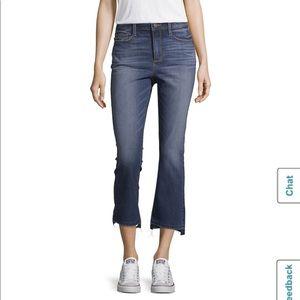 Ana High Rise Kick Crop Jeans